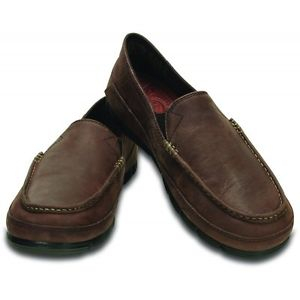 CROCS STRETCH SOLE LEATHER