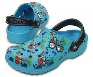 CROCS CLASSIC SUMMER FUN CLOG Kids