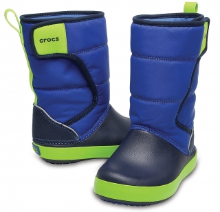 CROCS CROCBAND LODGE POINT SNOW Boot K